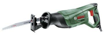 Bosch DIY Säbelsäge PSA 700 E, 1 Sägeblatt S 2345 X für Holz, Karton (710 W, Schnittstärke in Holz 150 mm, Schnittstärke in Stahl 10 mm) -