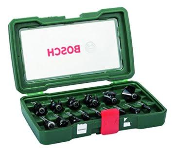 Bosch Fräser-Set-HM (Ø 8 mm, 15-teilig) 2607019469 -