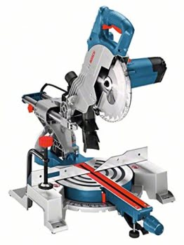 Bosch Professional GCM 800 SJ Paneelsäge (216 mm Sägeblatt, Durchmesser 30 mm Sägeblattbohrungs, inklusiv Kreissägeblatt, 13,5 kg, 1,400 W) blau, 0601B19000 -