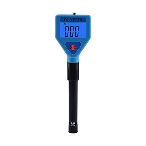 Feuchtigkeitsmessgerät Tragbarer Wasserqualitätsanalysator, digitales Display, Wasserqualitätsprüfer für Aquarien, Leitfähigkeitsmesser