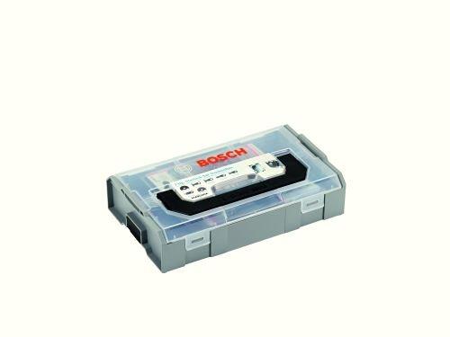 Bosch 06159975E6 Starlock Trockenbau, 7-teiliges Zubehör Set für Multi Cutter, 2X Segmentsägeblatt, 4X Tauchsägeblatt, 1x Messer, in Mini L-Boxx
