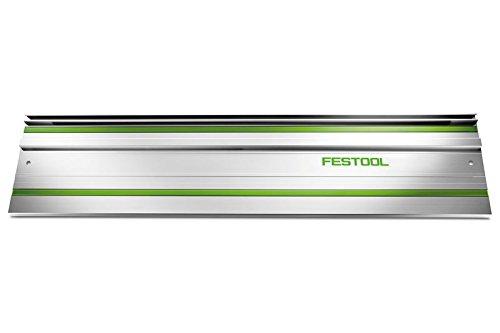 Festool Führungsschiene mit Haftunterlage an Unterseite und Zusätzliche Nut FS 1400/2 (Länge 1400 mm,...