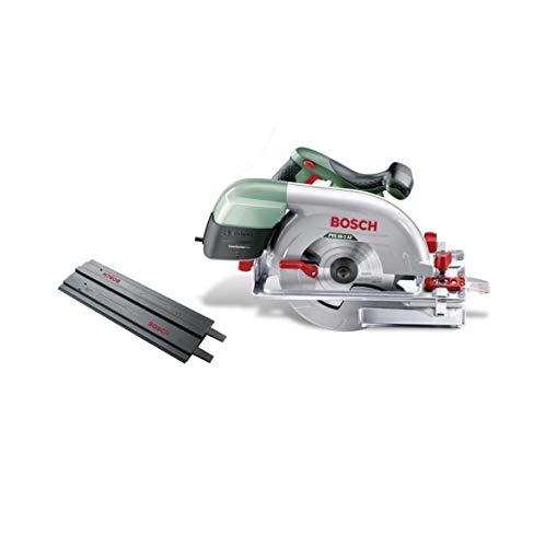 Bosch PKS 66-2 AF Handkreissäge 190 mm 1600 W + Sägeblatt SpeedLine + Führungsschiene 70 cm (0603502004)