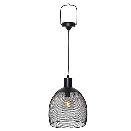 Best Season LED-Solar-Lampe, schwarz, ca 29 x 29 x 35cm, 481-71