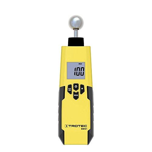 TROTEC Feuchteindikator BM31 Feuchtemessgerät (5-40 mm) + Holster BM31