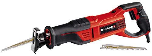 Einhell Universalsäge TE-AP 950 E (950 W, 28 mm Hubhöhe, 0-2800 min.-1, Hubzahl-Elektronik, werkzeuglos verstellbarer Sägeschuh, werkzeugloser Sägeblattwechsel, inkl. KWB Sägeblatt für Holz)
