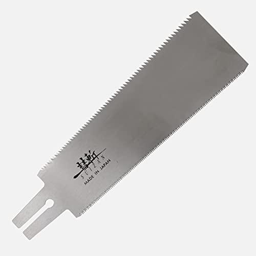 SUIZAN japansäge zugsäge holzsäge ryoba 240mm japanische säge handsäge holz (Ersatzblatt)