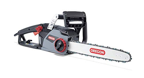 Oregon CS1400 2400W Elektrokettensäge, Leistungsstarke Elektrosäge mit 40 cm (16 Zoll) Führungsschienen mit ControlCut- für Sägekette (603349)