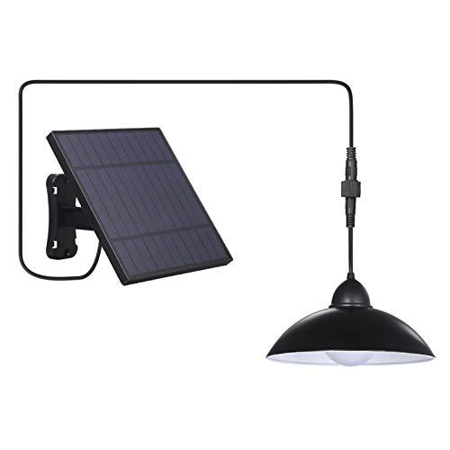 Solar Hängelampe,Tomshine Solar Hängeleuchte mit Fernbedienung Solarpanel Solarleuchte Solarlampe außen...