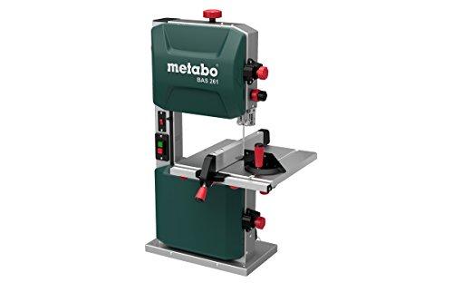 Metabo Bandsäge BAS 261 Precision (619008000) Karton, Abmessungen: 530 x 470 x 840 mm, Auflagefläche: 328 x...