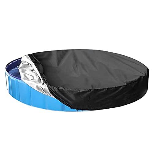 Pool Poolabdeckung Runde - 366CM/122CM/162CM/8ft/10ft Wasserdichtes Oxford-Tuch Abdeckplane für Schwimmbecken - Solarmatten für Pools