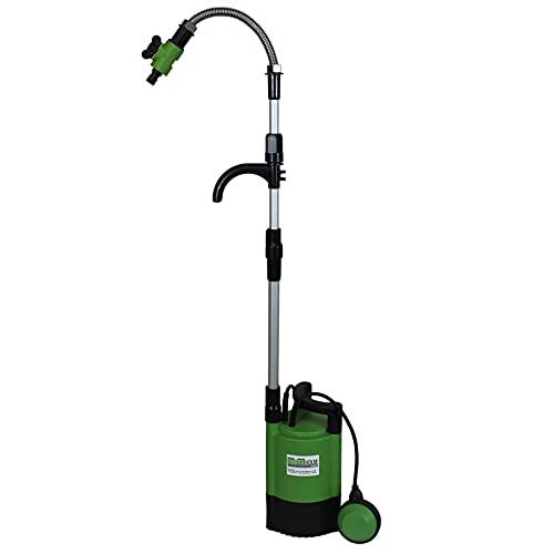 TrutzHolm® Regenfasspumpe 400W, Förderhöhe 11m, 5200 l/h Pumpe, Schwimmerschalter Tauchpumpe Schmutzwasserpumpe