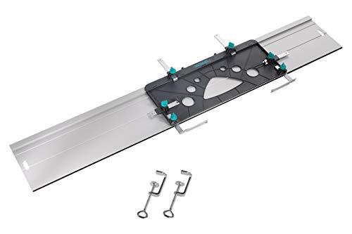 wolfcraft I FKS 115 - Führungsschiene für Handkreissägen I 6910000 I ideal zum Zuschneiden und Kürzen von...
