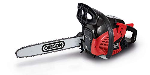 Scheppach Benzin Kettensäge CSP41 (2 PS, 40cm Schwertlänge, 37,5cm Schnittdurchmesser, automatische...