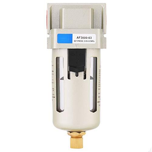 Nicoone 1 Pcs AF3000-03 G3/8 Druckluft Kompressor In Linie Feuchtigkeit Wasser Filter