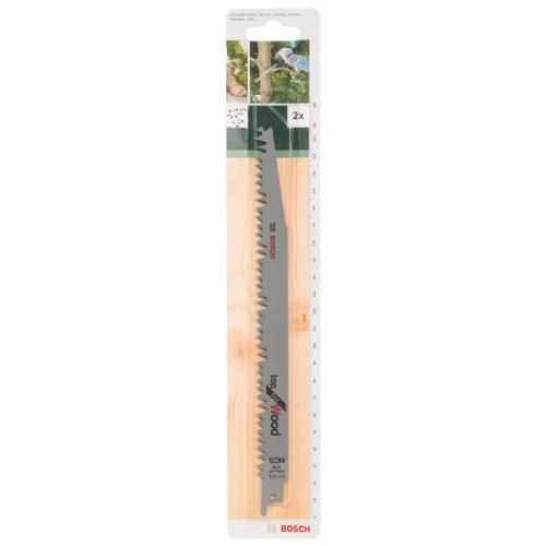 Bosch DIY Säbelsägeblatt Top for Wood zum Sägen in Holz (2 Stück, S 1131 L)