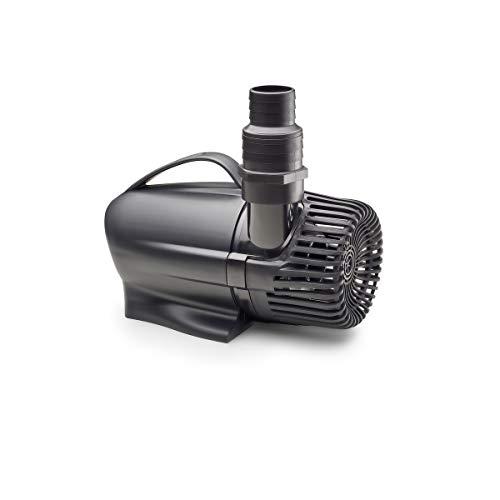 AQUANIQUE Teichpumpe PP 9000, Filterpumpe/Bachlaufpumpe, Pumpe für Teich, Gartenteich, Bachlauf, Wasserlauf, Wasserfall, Springbrunnen, 9000 l/h