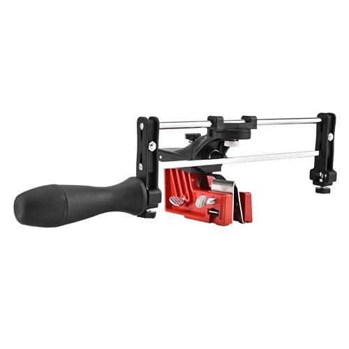 Kettensäge für Stangenmontage, einfach zu bedienen Kettenschärfgerät Sägekettenfeilführungswerkzeug Kettenfeilführungswerkzeug für alle Größen von Sägeketten