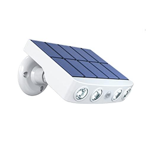 LCYZ Solarlampen für Außen,Solarleuchte mit Bewegungsmelder Beleuchtung Solar wasserdichte Sicherheitslicht für den Hof
