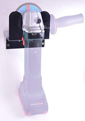 Winkelschleifer Halterung Flex Halterung Farbe Schwarz (Schwarz 1 Stk.)