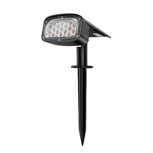 Solar Gartenleuchte für außen, LangRay 34 LEDs Wasserdichtes Lampen für den Garten 2-in-1 Wegeleuchten für Terrasse Veranda Gehweg Pool Patio