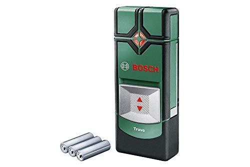 Bosch Ortungsgerät Truvo (für Metall & stromführende Leitungen in 70/50 mm Erfassungstiefe; Kartoninhalt:...
