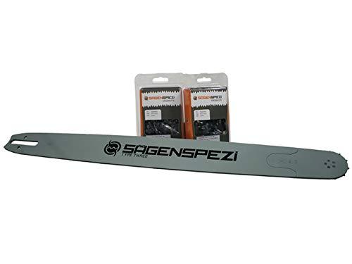 120cm Schwert-Set Solid Drive mit 2 Vollmeißelketten 3/8' 149TG 1,6mm passend für Stihl MS 661 MS661