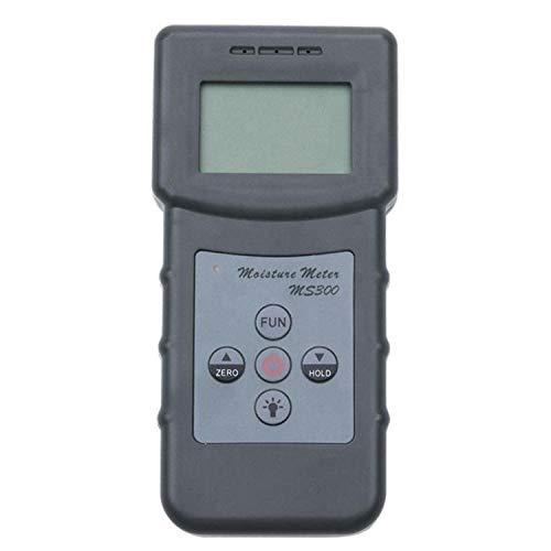 Feuchtigkeitsmessgerät Digitaler Beton/Wandfeuchtigkeitsmesser Feuchtigkeit Tester MS300 Für Gärten, Rasen, Betriebe