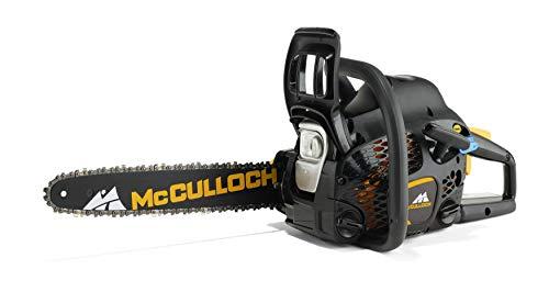 McCulloch Benzin-Kettensäge CS 42STE, Motorsäge mit 1500 W Motorleistung, 41 cm Schwertlänge, CCS-Luftfiltersystem (Art.-Nr. 00096-73.208.02)