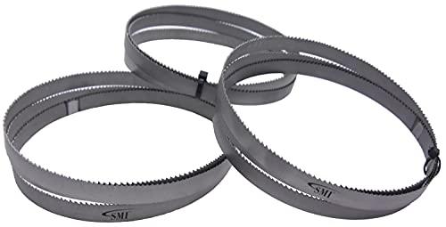 SMI 3er SET Sägeband Bi-Metall M 42 1440x13x0,65 mm 10/14 ZpZ z.B. für FEMI NG120XL, ABSNG120, 784 XL, 784,...