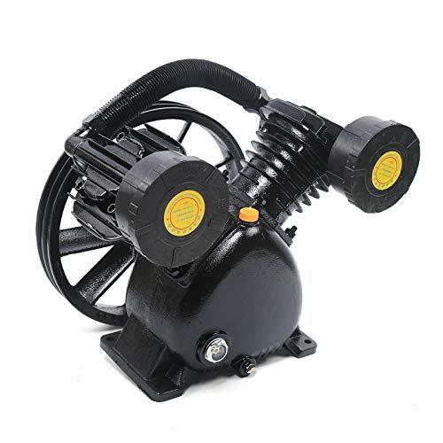 4000W V-Typ Druckluft Kompressor Kopf 2 Zylinder Luftkompressor Pump Kopf 900RPM