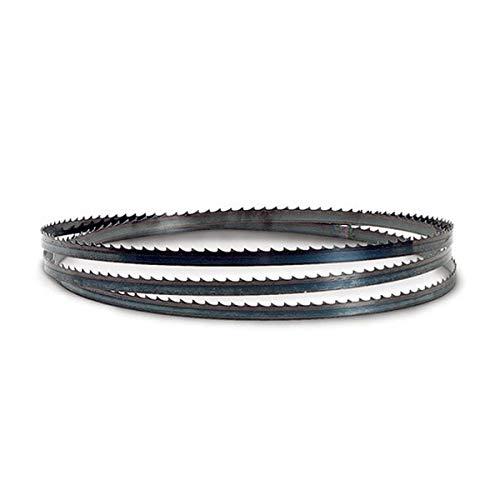 Flexback Bandsägeblatt Sägeband für Holz 1400 Holzbandsägeblatt (Breite 6 mm Stärke 0,5 Zahnteilung 6 mm)