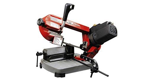 Holzmann Maschinen H020500004 BS125M_230V Mobile Metallbandsaege 400W 1435mm