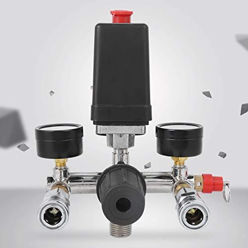 Halterung Montage Kompressor Druckschalter Luftkompressor Teile Krümmer Regler Druckminderer Ventil Druckluft...