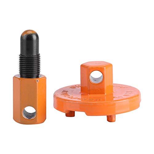 Sincer Kupplungs-Ausbauwerkzeug-Set, Kettensägen-Kupplungsschwungrad-Ausbauwerkzeug Universal-Kolbenstopp-Kettensägenteile Kupplungsschwungrad-Ausbauwerkzeug