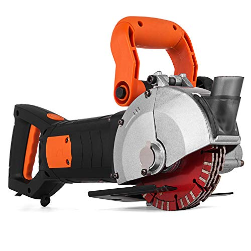 Mophorn Elektrische Wand Chaser Maschine 4800Watt Wand Groove Schneidemaschine Stoßmaschine 42mm für Ziegel Granit Marmor Beton Cutter Notcher Groover (K1331)