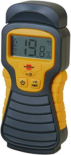 Brennenstuhl Feuchtigkeits-Detector MD (Feuchtigkeitsmessgerät/Feuchtigkeitsmesser für Holz oder Baustoffen,...