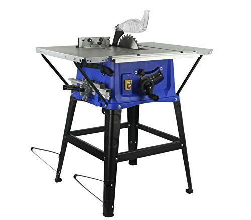 Tischsäge M79152 Tischkreissäge Kreissäge Säge 255mm Untergestell Holzsäge 2200W