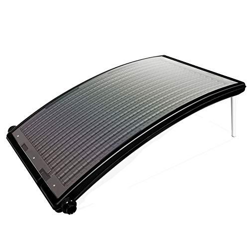 wolketon Poolheizung Sonnenkollektor 110 x 69 x 14 cm Solarheizung für Pool Heizsystem Solar Solarkollektor Warmwasser