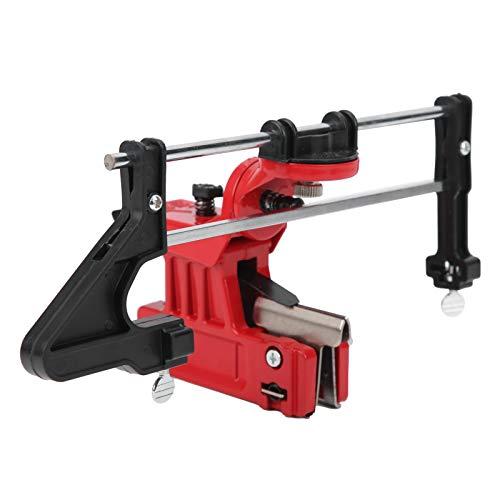 Kettenschärfgerät, Kettenschleifwerkzeug, einfache Bedienung Rostschutz Präzise Maschinen für Kettensägen Bau Industrielle Anwendung