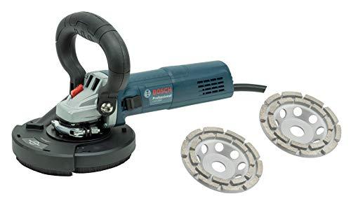 Bosch/Trongaard Sanierungs-Set/Betonschleifer-Set/Putzfräsen-Kombination 880W inkl. 2 Schleifteller