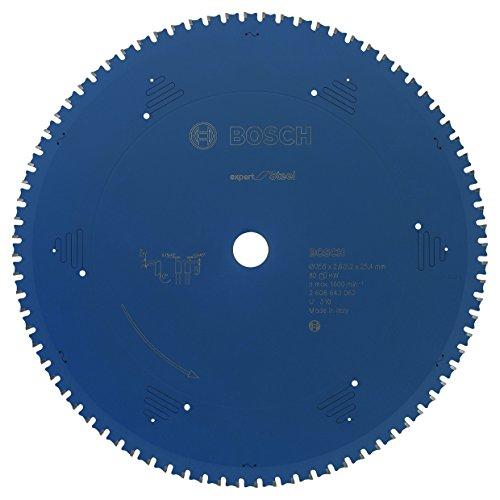 Bosch Professional Kreissägeblatt (für Stahl, AußenØ: 355mm, Bohrung: 25,4mm, Zubehör für Metall-,...