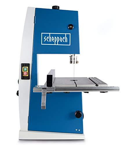 Scheppach Bandsäge BASA1 (300 Watt, max. Schnitthöhe: 100mm, Durchlassbreite: 195mm, bis zu 45°...