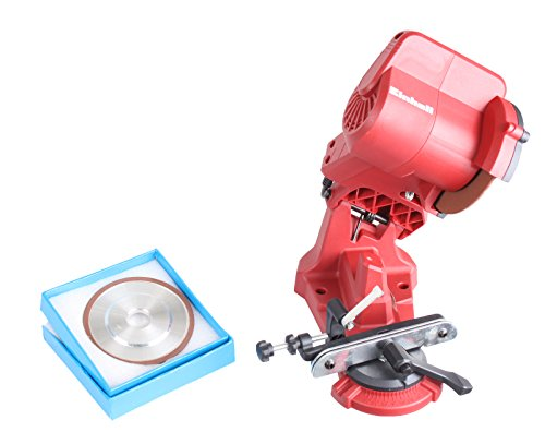 Set Einhell Sägekettenschärfgerät GC-CS 85 E mit GARDINGER Diamantschleifscheibe 108x3,2x23 mm