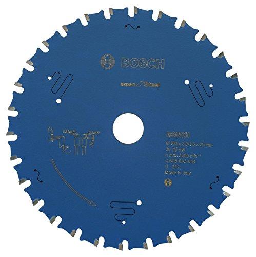 Bosch Professional Kreissägeblatt Expert für Steel, 160 x 20 x 2,0 mm, 30, 2608643054