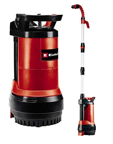 Einhell Regenfasspumpe GE-PP 5555 RB-A (550 W, max. 5500 L/h, max. 20 m Förderhöhe, 2in1-Kombipumpe - Tauchdruck- und Regenfaßpumpe, Automatikfunktion mit Trockenlaufsicherung)