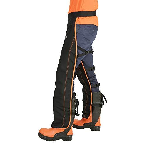 Oregon Herren 575780 Universal Typ A Sicherheits-Leggings für Kettensäge (nur Vorderschutz)., Schwarz,