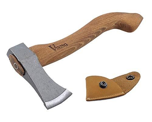 Wikinger Axt, Axt für Camping Zwecke, Hatchet, Viking Axt, Camping Axt, kleine Garden Werkzeug, hackstock...