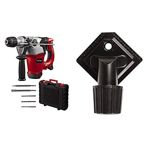 Einhell Bohrhammer RT-RH 32 (Bohren, Hammerbohren, Meißeln m. Meißelfixierung, Pneumatisches Schlagwerk, SDS-plus-Werkzeugaufnahme, inkl. 3 Bohrer, Spitz-/Flachmeißel, Koffer, Bohrdüse)