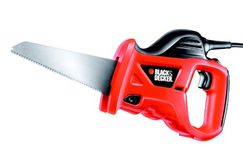 Black+Decker 400W Universal-Säbelsäge KS880EC (zum Sägen von Holz, Metall oder Kunststoff, inkl....